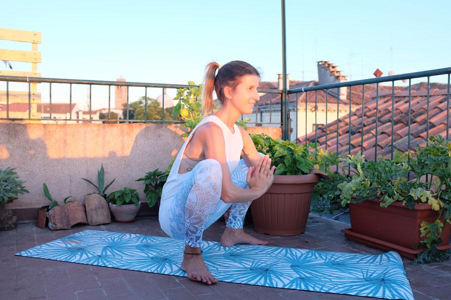 Yogi Squats, Napali Yogamat, Venice, Venedig, Venezia Altana, Sunset