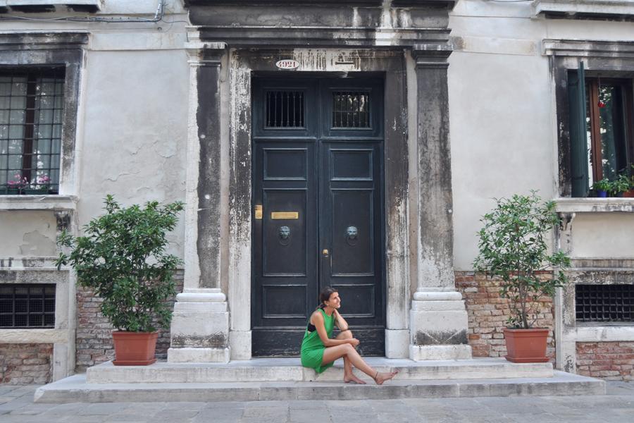 Venetian house, Venedig, Venezia
