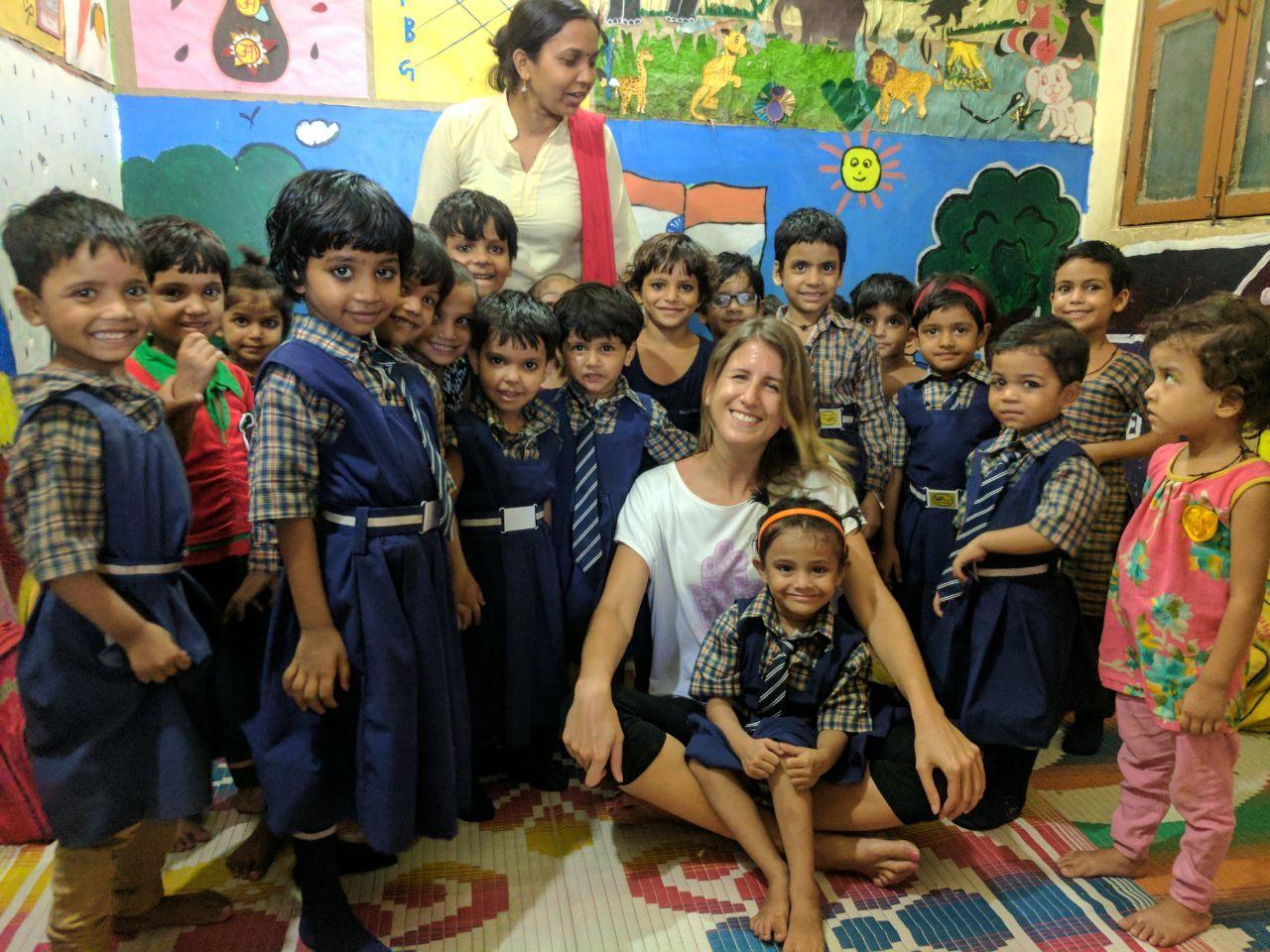 Smile Foundation India, girls, amabassador