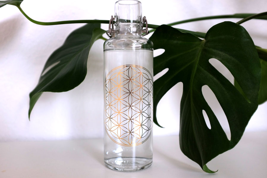 Soulbottles Flasche Flower of Life