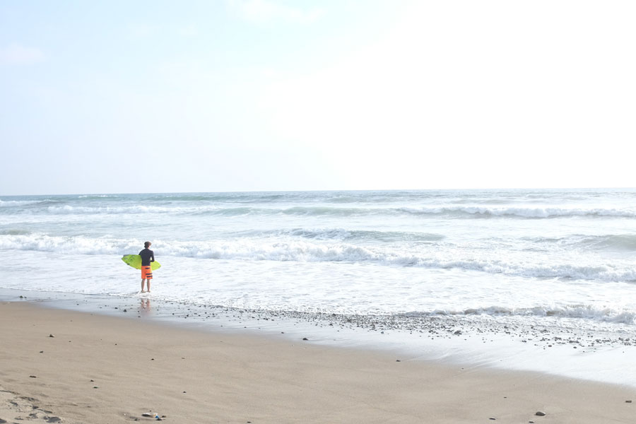 Playa Ayampe Ecuador Beach Ocean Surfer