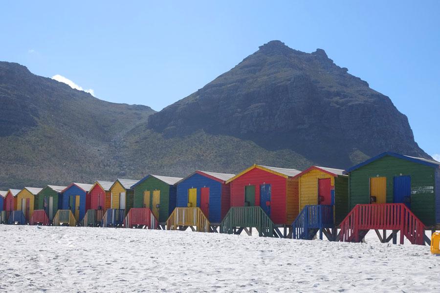 Cape Town Muizenberg Beach Houses