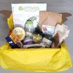 Veganes Essen in der Box