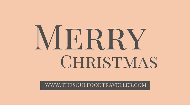 The Soulfood Traveller wünscht frohe Weihnachten
